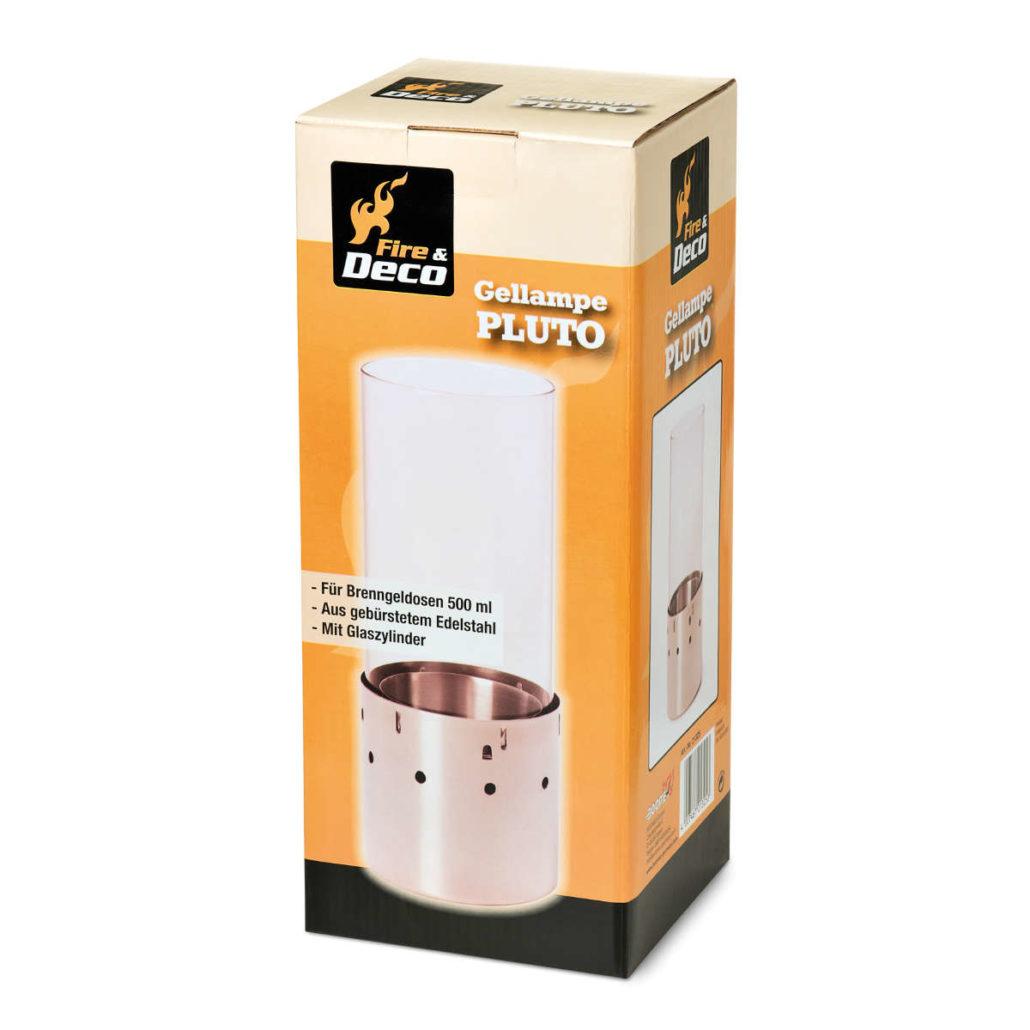 "gel lamp ""pluto"" - boomex | kohle- & grillanzünder"