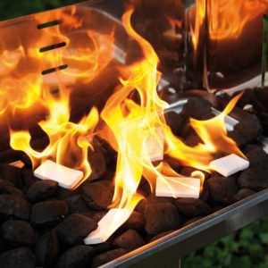 Anzünder Viereck brennend stark
