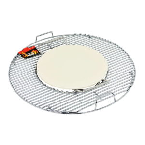 BBQ-System, Pizzastein 30 cm (eingelegt)