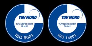 tuev-logos-BOOMEX ISO 9001 und 14001