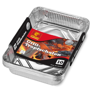 FLASH Grill-Alutropfschalen 10er