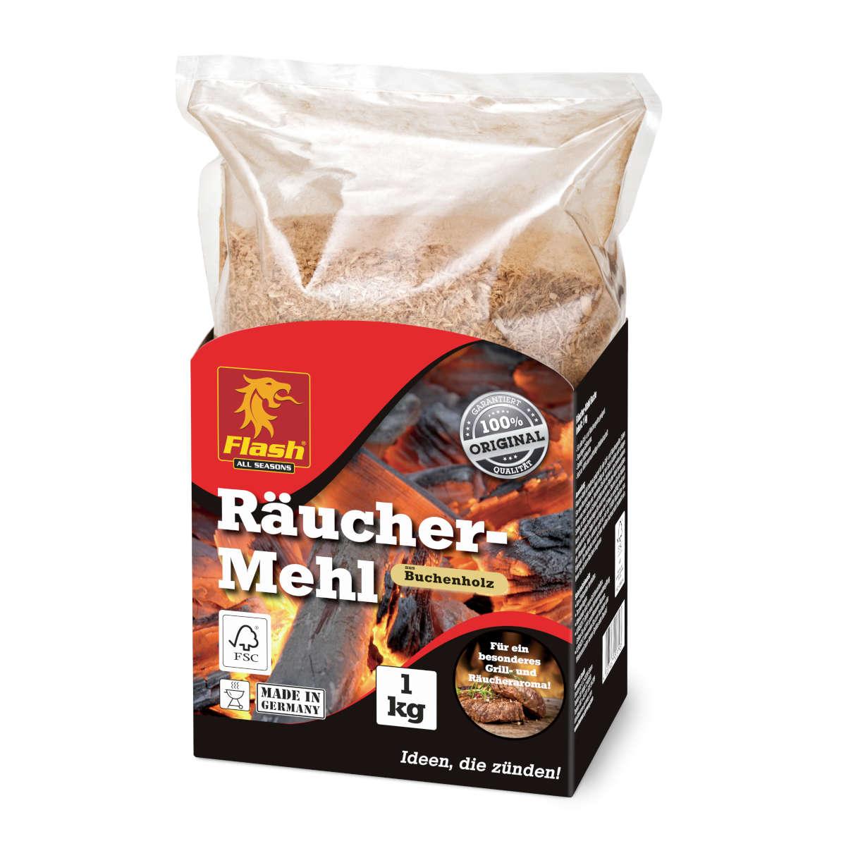 Räucher-Mehl Buche 1 kg