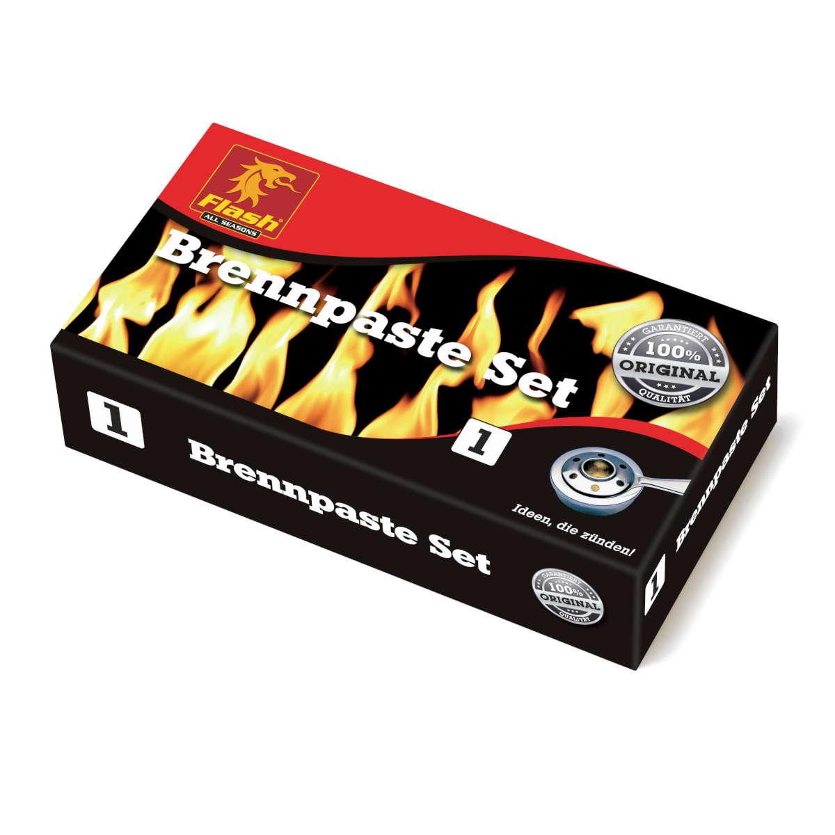 Brennpaste Set