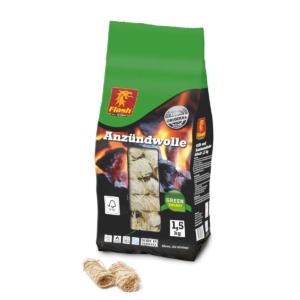 Anzündwolle 1,5 kg Beutel