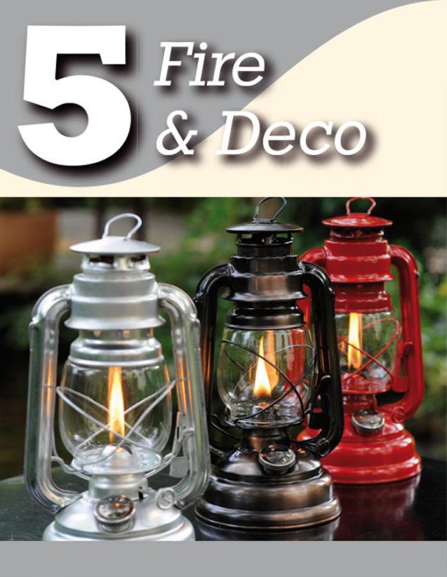 Fire & Deco dekorative Accessoires