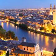 Verona bei Nacht