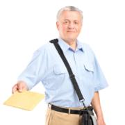 Mitarbeiter Postabfertigung