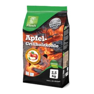 Apfel-Grillholzkohle